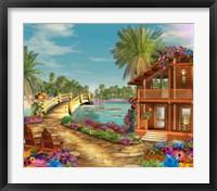 Framed Island Dreams