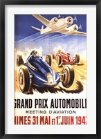 Framed Grand Prix Automobile Nimes