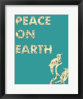 Framed Peace On Earth