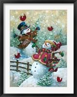 Framed Gotta Love Snow