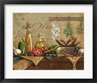 Framed Olio d'Olivo