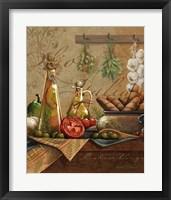 Framed Olio Italia