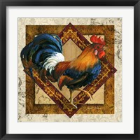 Ruler Of The Roost Framed Print