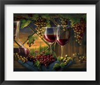 Tuscan Sunset Framed Print