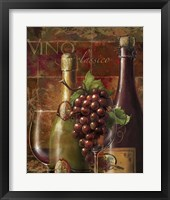 Vino Classico Framed Print