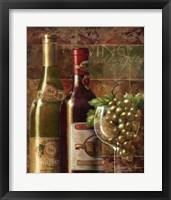 Vino d'Annata Framed Print