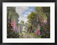 Framed Garden Cottage