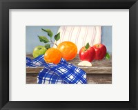 Apples To Oranges Framed Print