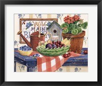 Framed Watermelon Fruit Bowl