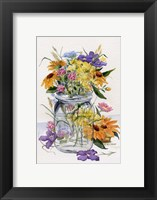Framed Wildflower Jar
