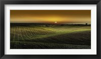 Framed Alentejo Sunset