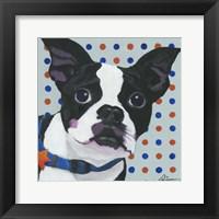 Framed Dlynn's Dogs - Diesel
