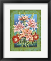 Framed Bouquet in Border II