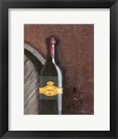 Framed Rustic Wine II