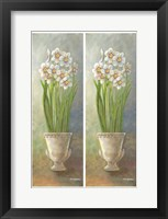 Framed 2-Up Narcissus Vertical
