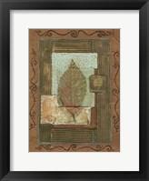 Framed Leaf Quartet I