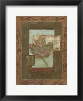 Framed Leaf Quartet II