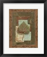 Framed Leaf Quartet III