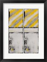 2-Up Route 78 I Framed Print