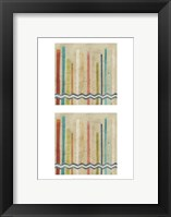 2-Up Paper Fences I Framed Print
