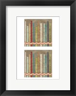 2-Up Paper Fences III Framed Print