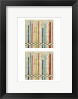 2-Up Paper Fences IV Framed Print