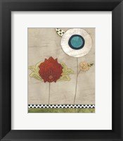 Petal Patterns III Framed Print