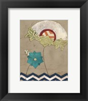 Petal Patterns IV Framed Print
