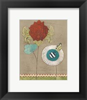 Petal Patterns V Framed Print