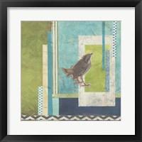 Avian Scrapbook II Framed Print