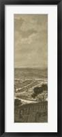 Framed Pastoral Panorama IV