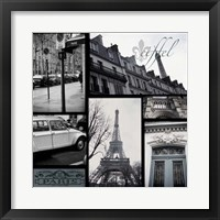 Framed Snapshots of Paris