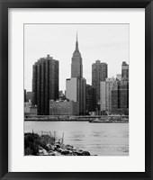 NYC Skyline III Framed Print