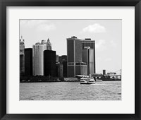 NYC Skyline VII Framed Print