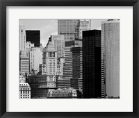 NYC Skyline VIII Framed Print