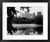 NYC Skyline X Framed Print