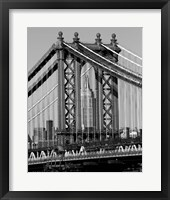 Bridges of NYC I Framed Print