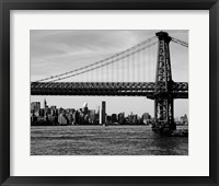 Bridges of NYC IV Framed Print