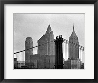 Bridges of NYC VI Framed Print