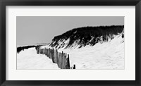 Shore Panorama I Framed Print