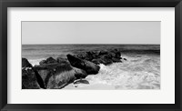 Shore Panorama II Framed Print