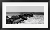 Shore Panorama II Framed Print