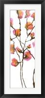 Inky Blossoms I Framed Print