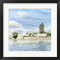 Bermuda Shore I Framed Print