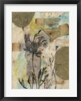 Vellum Floral II Framed Print