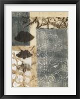 Ginkgo Fossil I Framed Print
