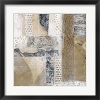 Lace Collage I Framed Print