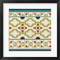 Southwest Geometry I Framed Print