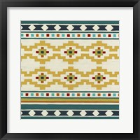 Southwest Geometry III Framed Print