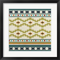 Southwest Geometry IV Framed Print